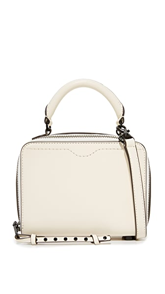 Rebecca Minkoff Box Cross Body Bag - Antique White
