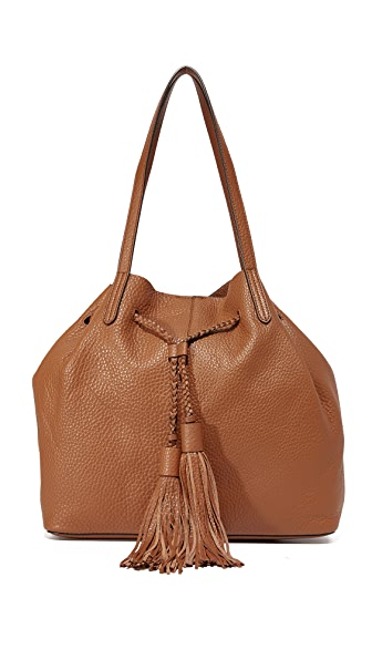 Rebecca Minkoff Unlined Drawstring Tote - Almond