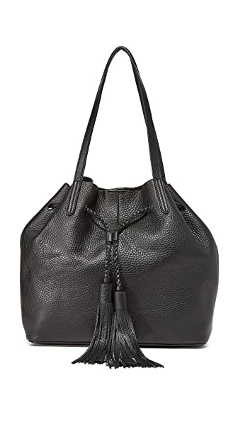 Rebecca Minkoff Unlined Drawstring Tote - Black