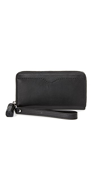 Rebecca Minkoff Phone Wristlet With Tassel