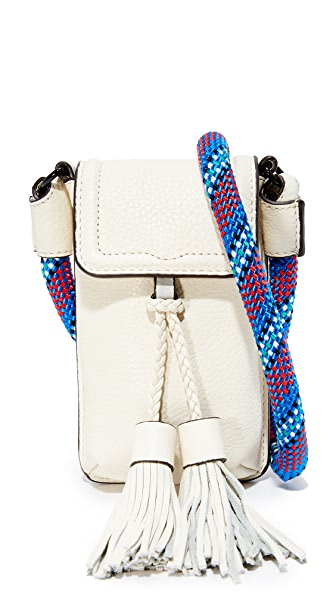 Rebecca Minkoff Isobel Phone Cross Body Bag - Antique White