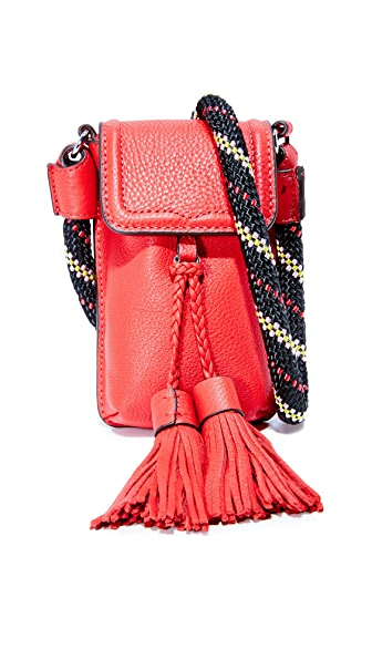 Rebecca Minkoff Isobel Phone Cross Body Bag - Fire Engine