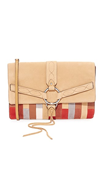 Rebecca Minkoff Patchwork Darling Convertible Clutch