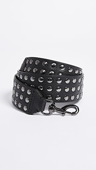 Rebecca Minkoff Flat Studded Shoulder Guitar Strap