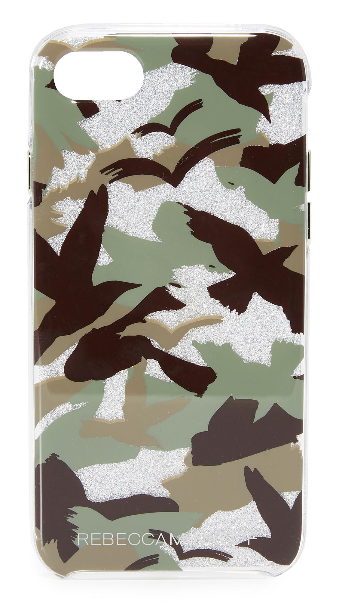 Rebecca Minkoff Camo Bird iPhone 7 Case - Green