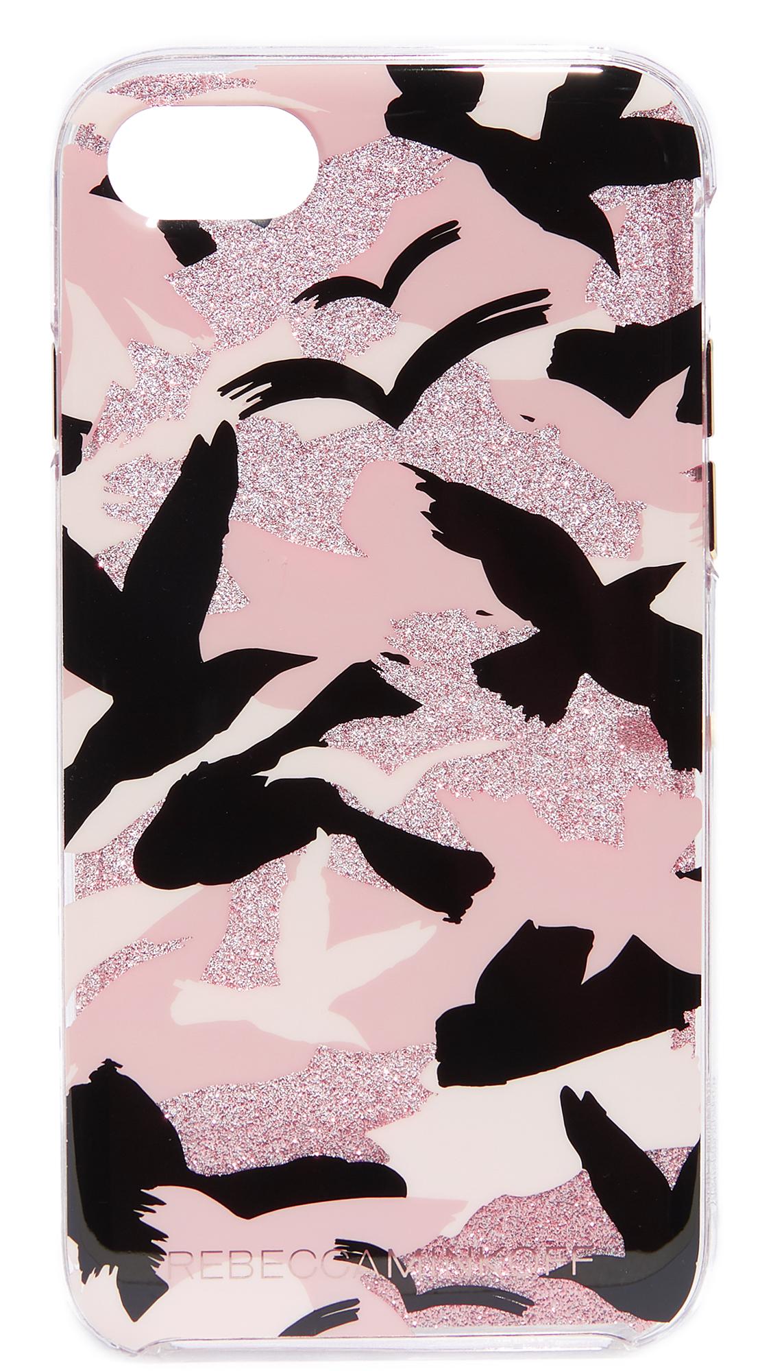 Rebecca Minkoff Camo Bird iPhone 7 Case - Peach