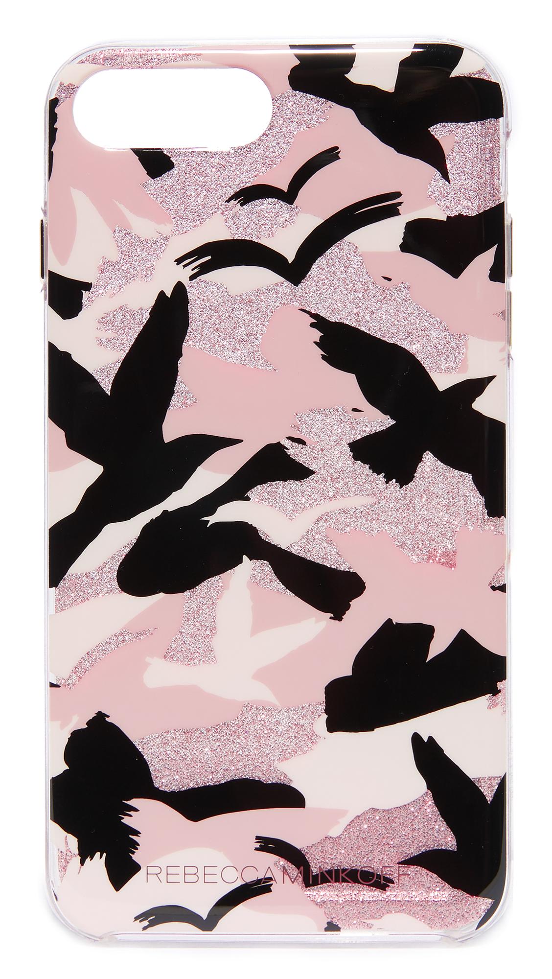 Rebecca Minkoff Camo Bird iPhone 7 Plus Case - Peach
