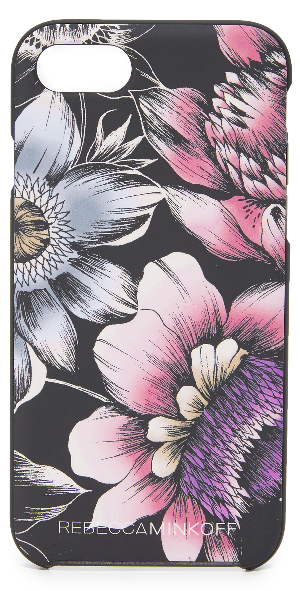 Soft Touch Finish Pencil Floral iPhone 7 Case Rebecca Minkoff