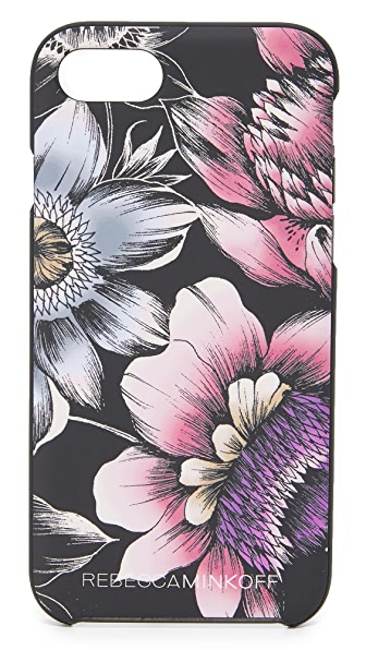 Rebecca Minkoff Soft Touch Finish Pencil Floral iPhone 7 Case