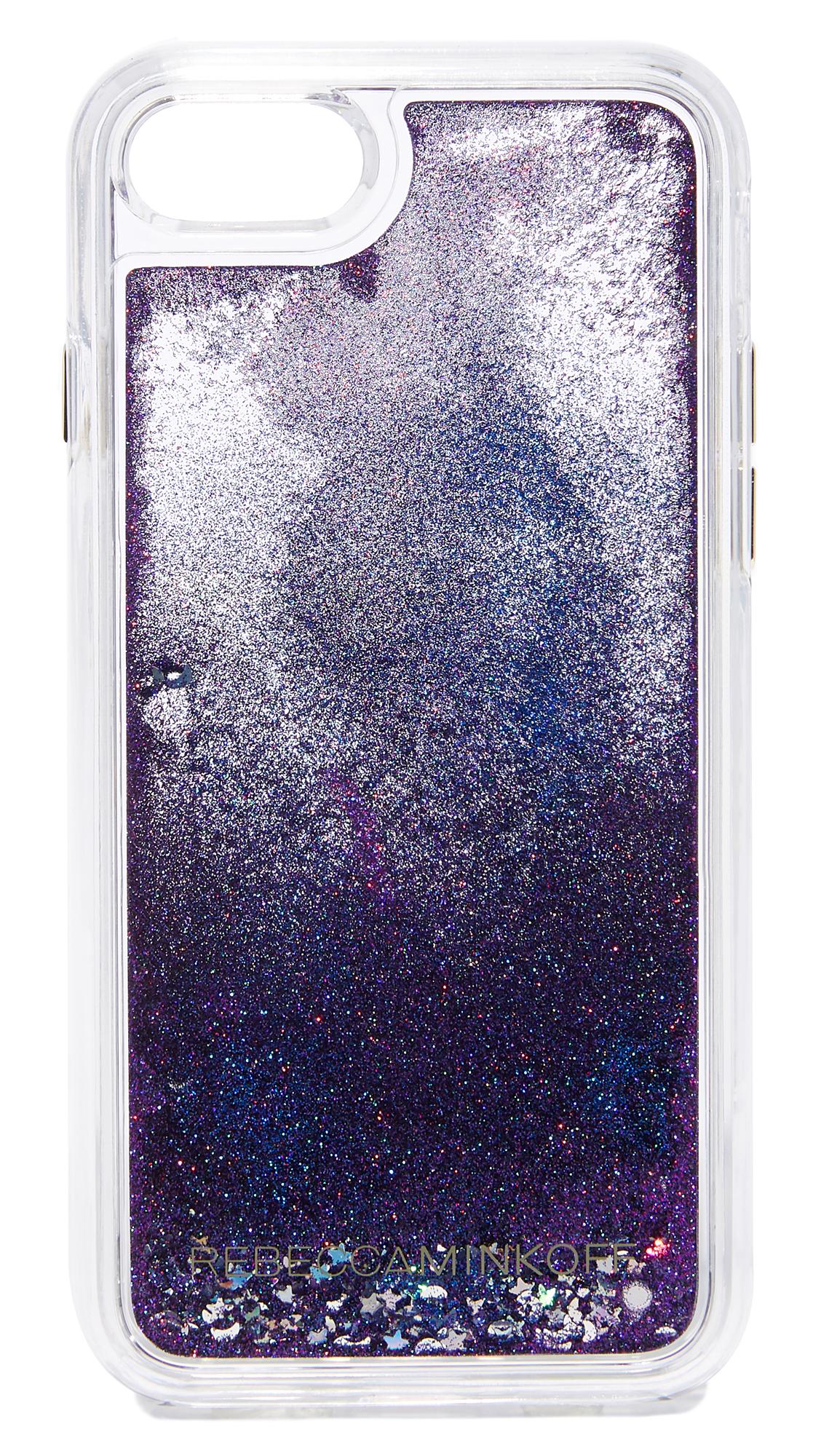 Rebecca Minkoff Galaxy Glitterfall iPhone 7 Case - Multi