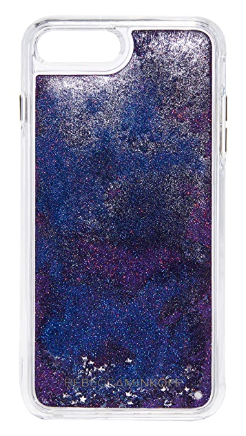 Rebecca Minkoff Galaxy Glitterfall iPhone 7 Plus Case