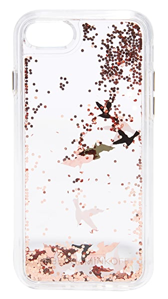 Rebecca Minkoff Birds Glitterfall iPhone 7 Case - Multi