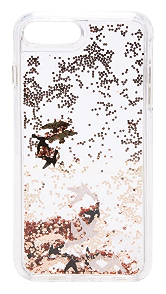 Rebecca Minkoff Birds Glitterfall iPhone 7 Plus Case - Multi
