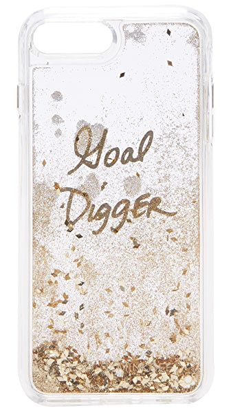 Rebecca Minkoff Goal Digger Glitterfall iPhone 7 Plus Case - Multi