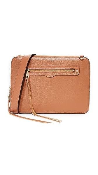 Rebecca Minkoff Regan Sleeve Laptop Case - Almond