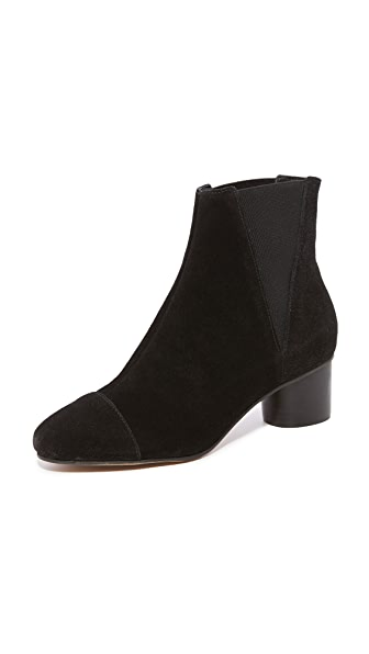 Rebecca Minkoff Izette Heeled Chelsea Boots In Black