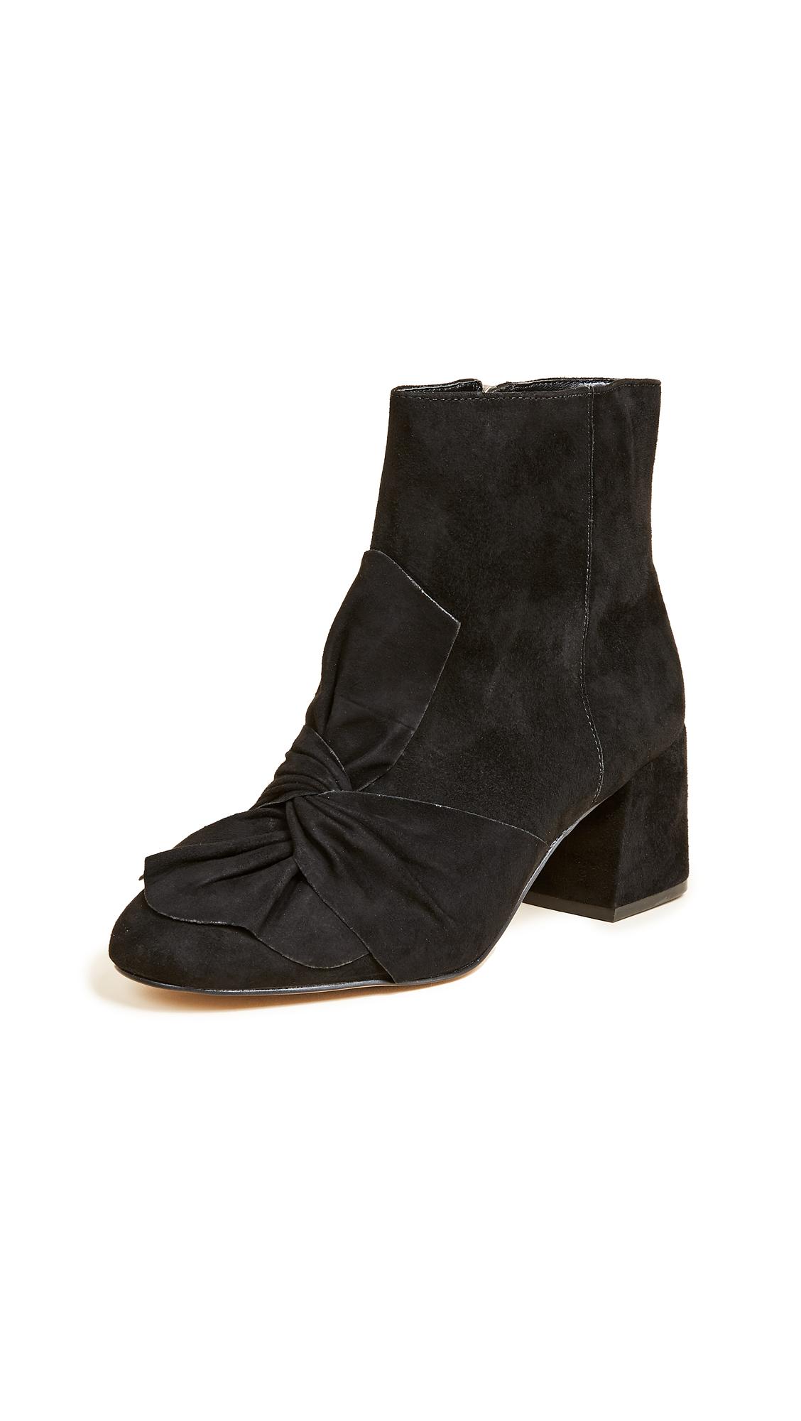 Rebecca Minkoff Lara Bow Booties - Black