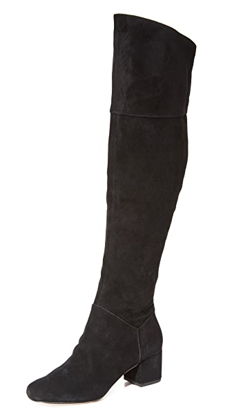Rebecca Minkoff Shawn Knee High Boots In Black