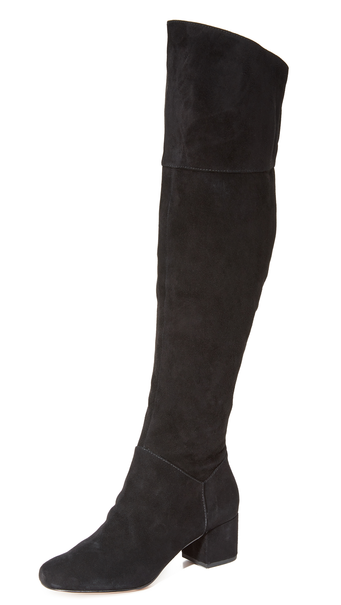 Rebecca Minkoff Shawn Knee High Boots - Black
