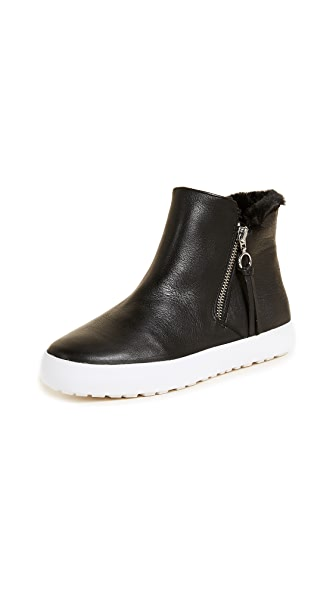 Rebecca Minkoff Shelly Zip High Top Sneakers In Black