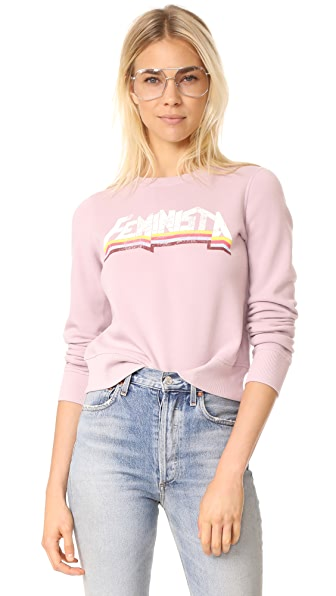 Rebecca Minkoff Kassidy Sweatshirt - Keepsake Lilac