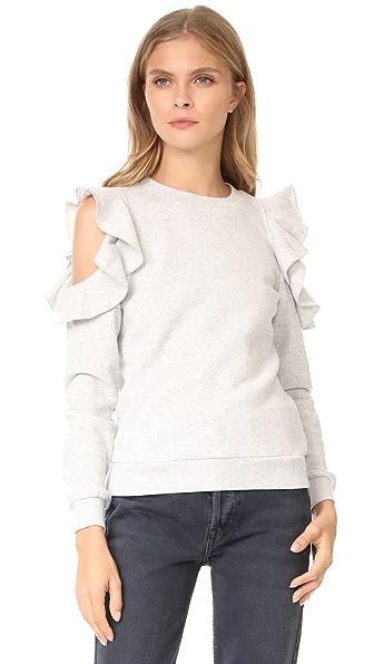 Rebecca Minkoff Gracie Sweatshirt - Light Heather