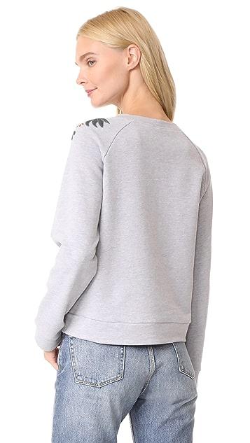 Rebecca Minkoff Jennings Embroidered Sweatshirt