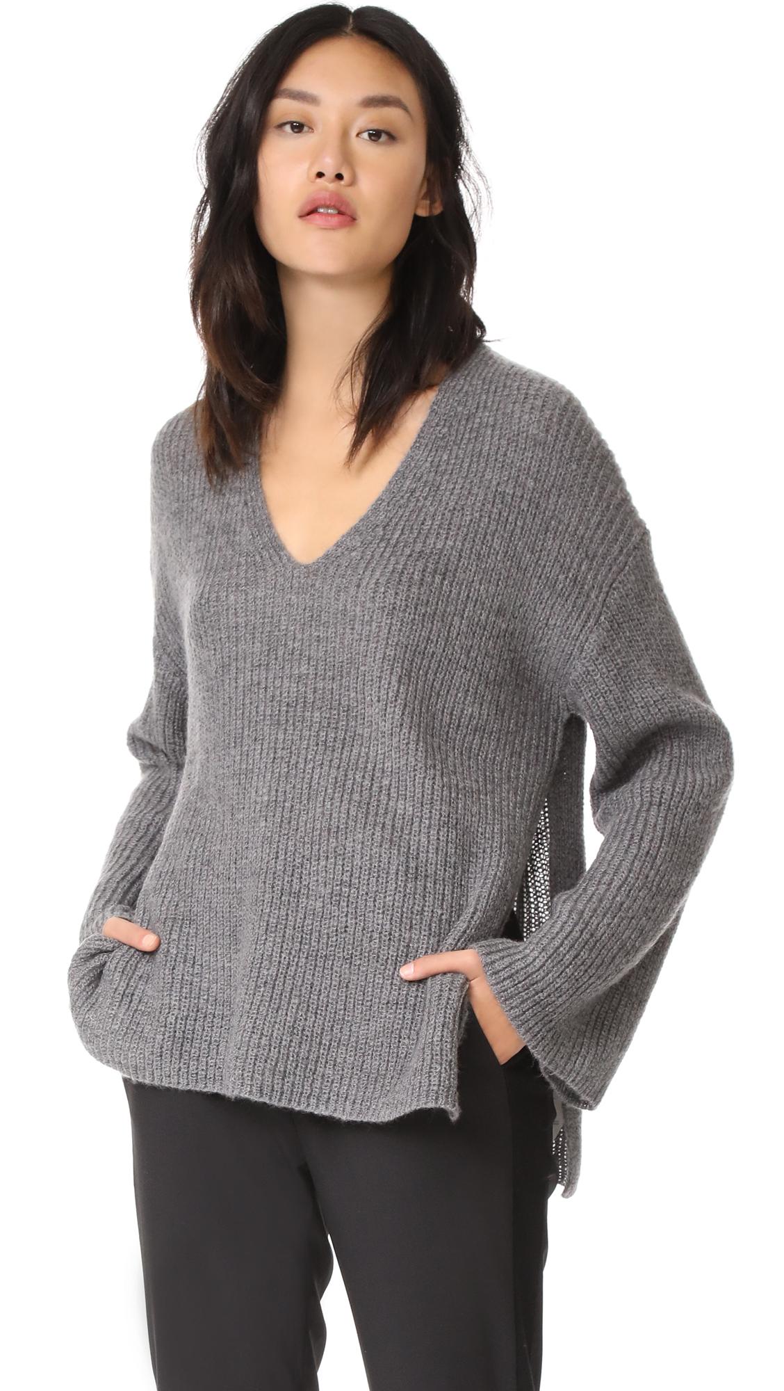 Rebecca Minkoff Remi Sweater - Dark Heather
