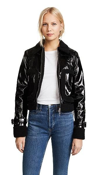 Rebecca Minkoff Corinna Jacket In Black