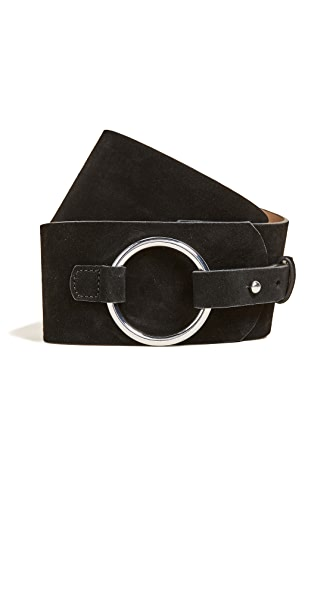 Rebecca Minkoff Annie Belt In Black