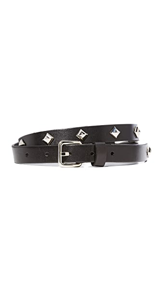 Rebecca Minkoff Dog Clip Studded Belt