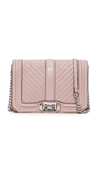 Rebecca Minkoff Small Love Cross Body Bag - Vintage Pink