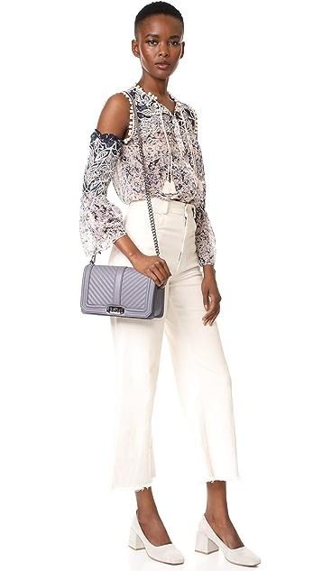 Rebecca Minkoff Chevron Love Cross Body Bag