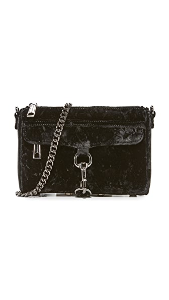 Rebecca Minkoff Mini MAC Cross Body Bag - Black