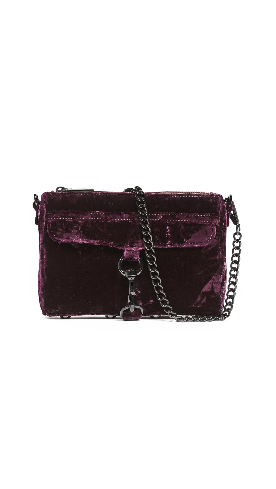 Rebecca Minkoff Mini MAC Bag - Dark Cherry