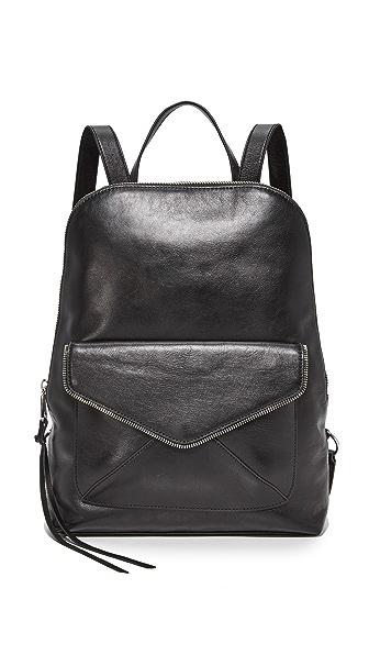 Rebecca Minkoff Envelope Backpack - Black