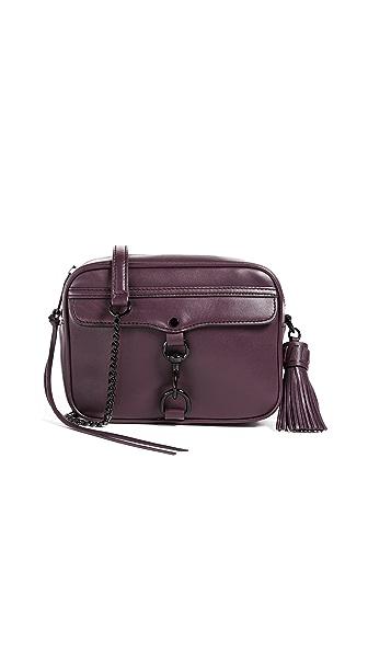 Rebecca Minkoff Medium Mab Camera Bag In Dark Cherry