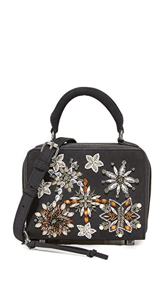Rebecca Minkoff Box Cross Body Bag - Black