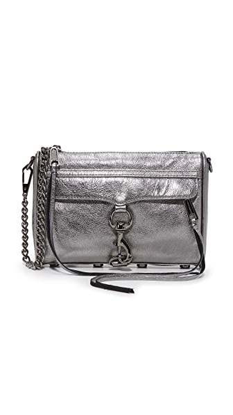 Rebecca Minkoff Mini MAC Cross Body Bag - Gunmetal