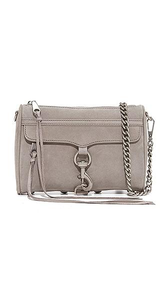 Rebecca Minkoff Mini MAC Cross Body Bag - Grey