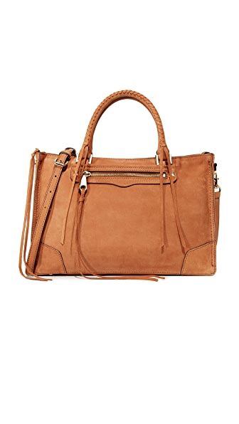Rebecca Minkoff Regan Satchel - Almond