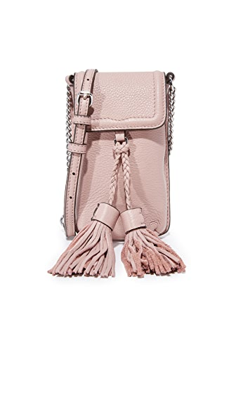 Rebecca Minkoff Isobel Chain Phone Cross Body Bag - Vintage Pink