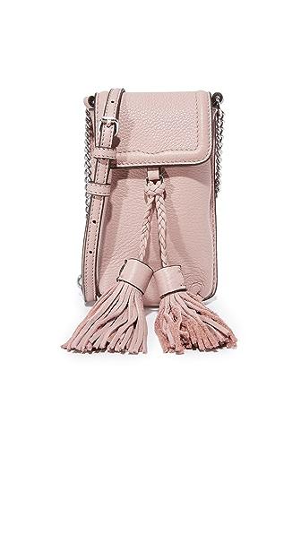 Rebecca Minkoff Isobel Chain Phone Cross Body Bag - Vintage Pink