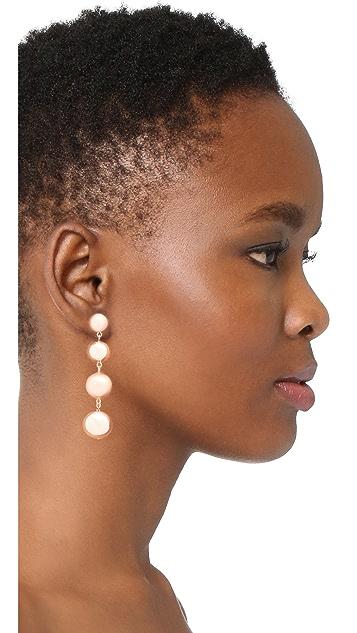 Rebecca Minkoff Statement Sphere Drop Earrings