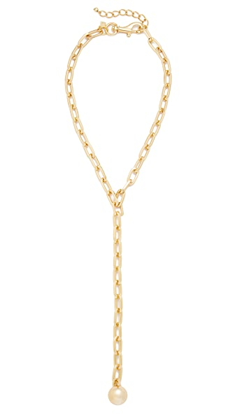Rebecca Minkoff Sphere Y Necklace - Gold