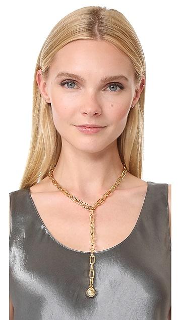 Rebecca Minkoff Sphere Y Necklace