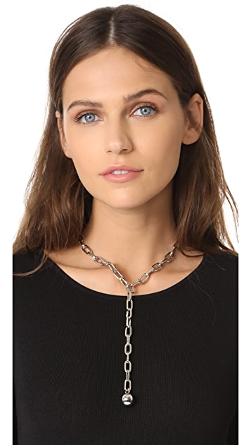 Rebecca Minkoff Sphere Y Necklace