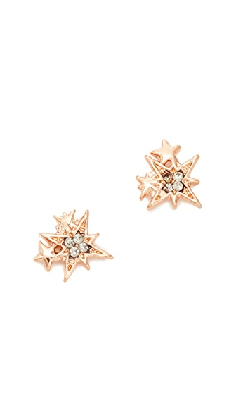 Rebecca Minkoff Stargazing Stud Earrings - Rose Gold