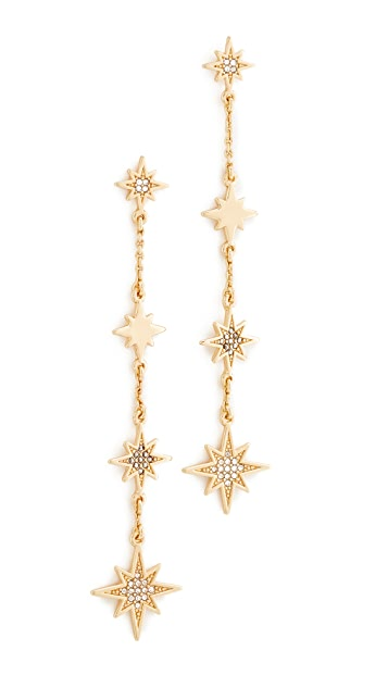 Rebecca Minkoff Stargazing Linear Earrings