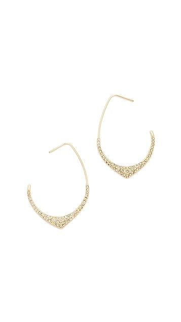 Rebecca Minkoff Alexandria Large Hoop Earrings